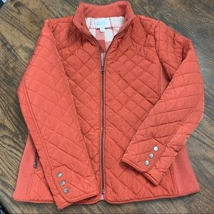 Market and Spruce dulcie quilted puffer jacket Med